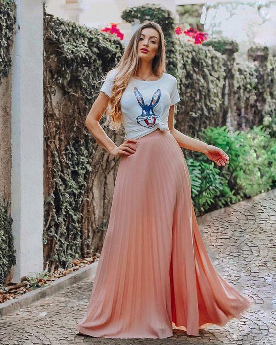 modelos de saias verão 2019