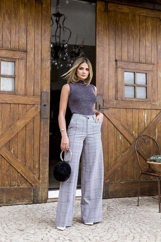 Termos de moda: Calça pantalona