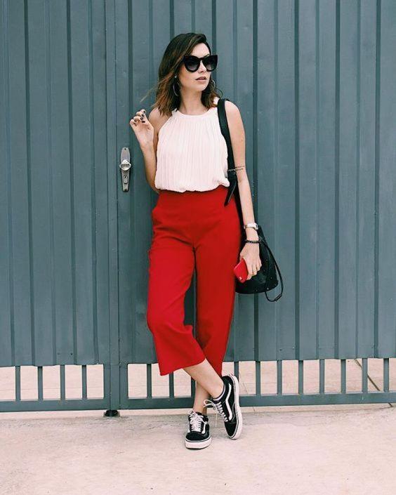 calças curtas