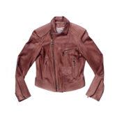 jaqueta couro perfecto com matelassê
