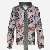 Camisa crepe floral